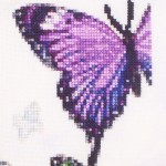 Nene Thomas FAERY RING stitched [purple butterfly]